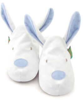 Bunny Soft Baby Shoes – Children's Slippers – Blue