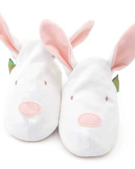 Bunny Soft Baby Shoes – Children's Slippers – Pink