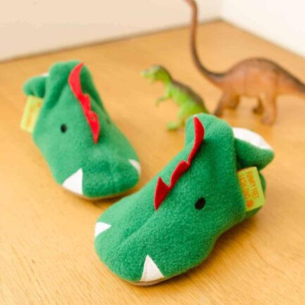 Funkasaurus soft baby shoes & toddler slippers