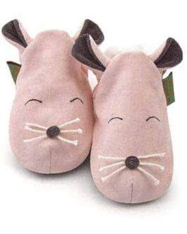 Mouse soft baby shoes & toddler slippers
