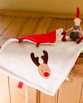 Rudolf Taggy Baby Comforter