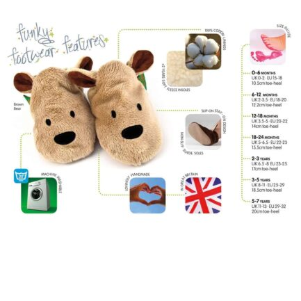 Sausage Dog soft baby shoes & toddler slippers - Blue