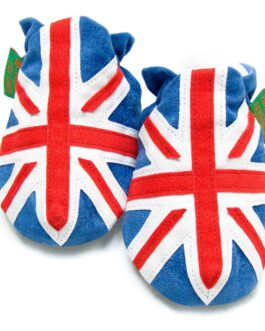 Union Jack Baby Shoes & Kids Slippers