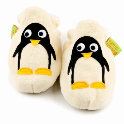Penguin soft baby shoes & toddler slippers