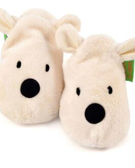 Polar bear soft baby shoes & toddler slippers