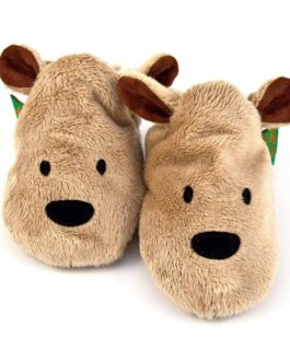 Brown Bear Soft Baby Shoes – Children's Slippers