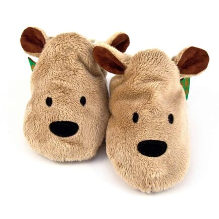 Brown Bear Soft Baby Shoes - Children's Slippers