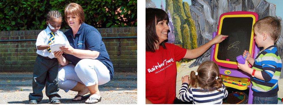 Rainbow Trust Children's Charity as work